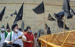 Farmer unions observe 'black day' today amid COVID-19 lockdown