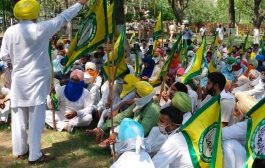 Farmers take out protest marches in Punjab against weekend lockdown by State Government