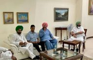 Navjot Sidhu meets CM Amarinder amid rumours of cabinet reshuffle, hands over a letter