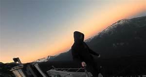 Toronto man films himself climbing the Whistler Peak-2-Peak Gondola, which he describes as